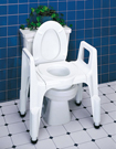 Composite 3-in-1 Commode Seat